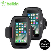 "New Arrival Belkin Original Sport-Fit Armband Case for iPhone 8/7 4.7"" Jogging GYM Bag Hand-washable with Retail Package F8W797(China)"