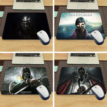 MaiYaCa Dishonored Hot Funny 18*22cm or 25*29cm Durbale Mouse Pad Speed Control mat