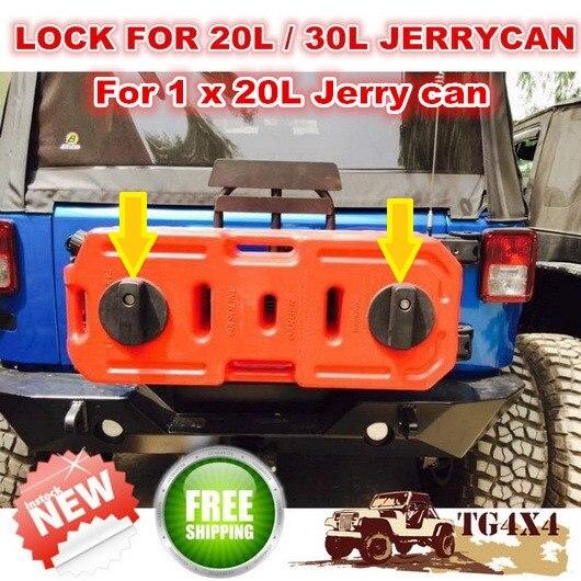 Jerrycan Pack Mount 2 Pcs/lot Single Fuel Tank Bra...