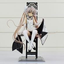 Japaness Starz Game In Solitude Where We Are Least Alone Empty Rim Kasugano Sora PVC Collection Kids Toys With Box 22cm(China)