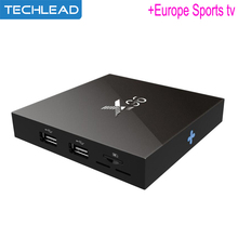 X96 iptv set top box 2GB 16GB with Iview HD European tv channels Arabic Turkish Italia Germany package code Albanian greek TV