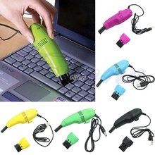 1pcs Keyboard Cleaner USB Mini Vacuum Dust Machine For Computer Laptop PC Hot Worldwide Promotion N28 Drop Ship(China)
