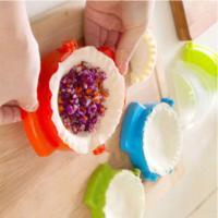 New Fashion Simple Plastic Press Dumpling Tool Jiaozi Device Easy DIY Mold Mould Kitchen Free Shipping Good Quality(China)