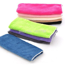 2pcs/set Multi Color Cloth Microfiber Quality Cooking Tools Kitchen Towel Microfiber Glass Cloth Bamboo Thick Micro Cloth(China)
