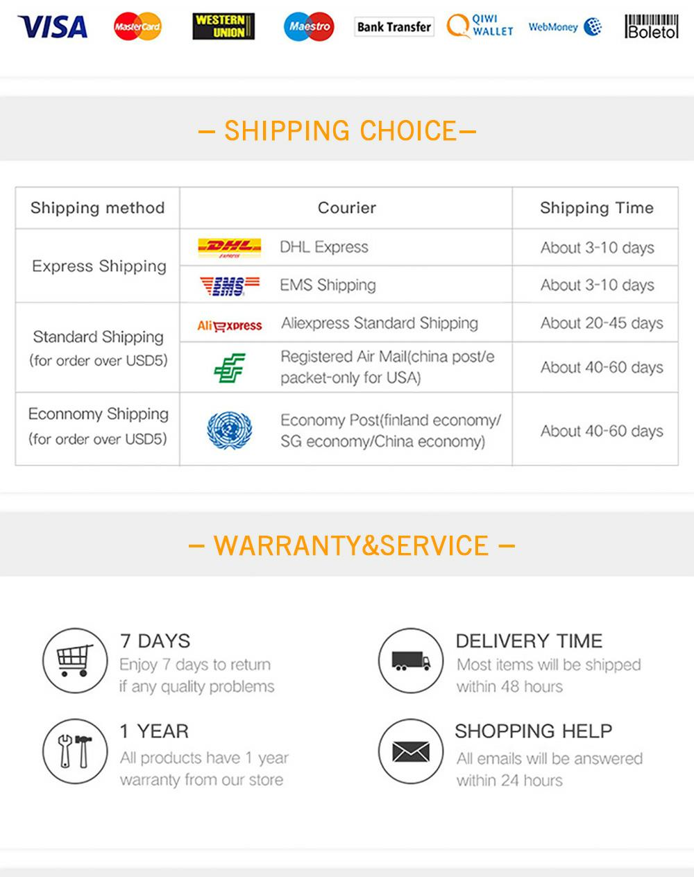 Shipping Choice _