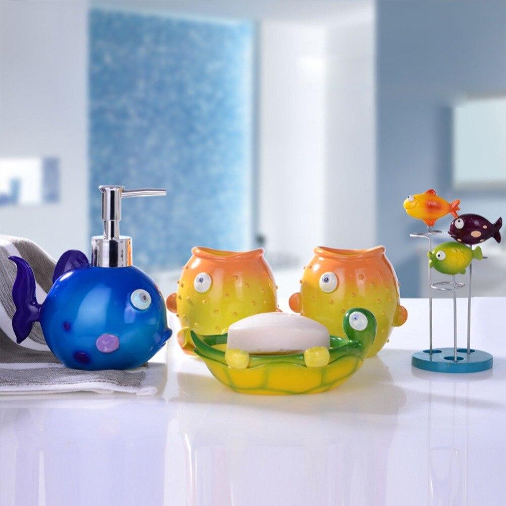 Duck bathroom accessories