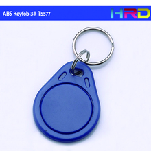 [10pcs/lot] t5577 125khz read and write rfid abd 3# keyfob key fob tag waterproof abs shell readable and writable lf keychaine