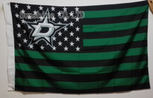 Dallas Stars USA With Stars and Stripes Flag hot sell goods 3X5FT 150X90CM Banner brass metal holes DS03