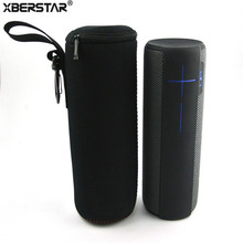 Water-Resistant Lycra Travel Zipper Sleeve Case For Logitech Ultimate Ears Bag for UE MegaBoom Bluetooth Speaker(China)