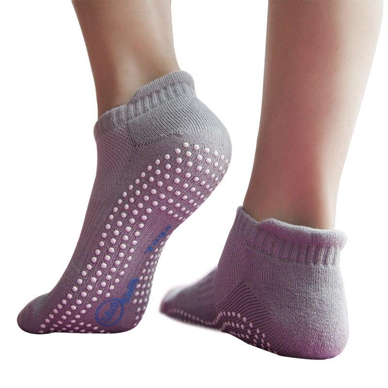 Women Yoga Socks Non-Slip Skid Grips Pilates Fitness Ballet Exercise Floor Socks