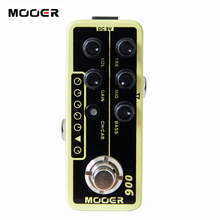 MOOER 006 Classic Deluxe Digital Preamp electric guitar pedal High quality dual channel preamp Independent 3 band EQ(China)