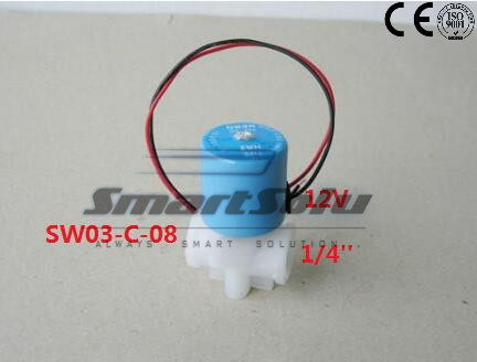 Free Shipping 1/4 Electric Solenoid Valve 12-Volt DC, N/C, RO, Air, Water BBTF 12VDC<br><br>Aliexpress