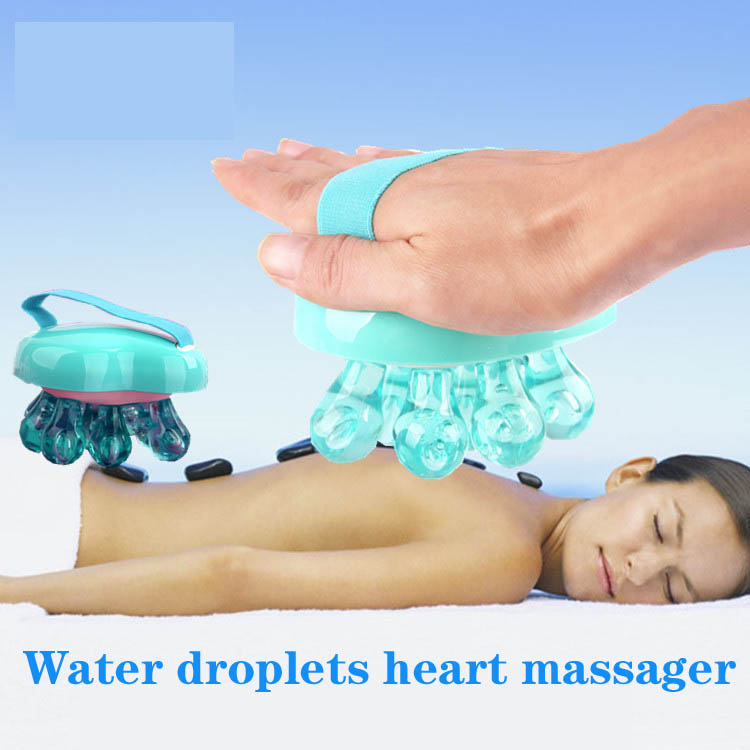 heart-shaped massager airbag bath brush brush SPA massage brush meridian belly in breast enhancement thin legs<br>