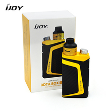 Buy Original E-Cigarettes IJOY RDTA Box Mini Starter Kit 100W Box MOD Vape 6ml Tank 2600mah Built-in Battery RBM-C2 coil Vaporizer for $49.00 in AliExpress store