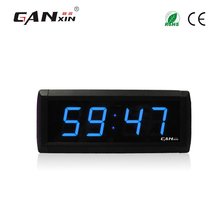 "[Ganxin]1.8"" Hot Selling Long Warranty Led Remote Control Led Digital Clock China Date and Clock Function"