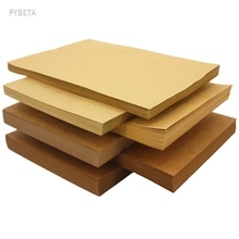 "80gsm - 500gsm  210*297mm/8.2""*11.5""  A4 Brown Kraft Paper DIY Card making Craft Paper"