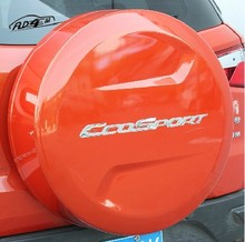 Free shipping car sticker of Space-Saving Spare Wheel for ford ecosport