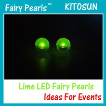 180pcs/bag Multicolor Water Floating Fading light LED Fairy Pearl for wedding decoration/LED balloon light,LED light for paper(China)