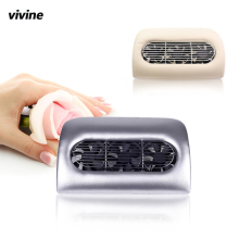 VIVINE Nail Vacuum Cleaner Beauty Salon Equipment Collector Suction Nails Dust Manicure Machine Cleaning Drill Dirt UV Nail Gel