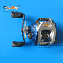 Fishing Reel AF105L 8+1BB Ball Bearings Left Hand Low Profile Baitcasting Carp High Speed Pesca 6.3:1 fly fishing reel