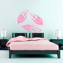 This Design Can Catch Fashion Girls Eyes Bedroom Or Living Room Artistic Decals Removeable Adhesives Murals Vinyl Stickers S-581