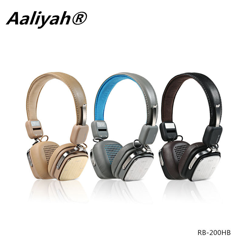 Aaliyah  200HB headset Bluetooth headset V4.1 HIFI music style DIY enthusiasts high-quality headset<br>