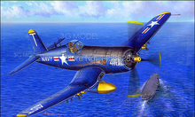 Trumpeter model plastic scale model 1/48 aircraft  80389 U.S. F4U-5 COSAIR  Assembly Model kits  Modle building  scale kit