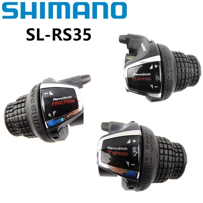 SHIMANO Cycling RevoShift 21 Speed Shifter Set SL-RS35-R//L 58750910SET Cycle Force Group