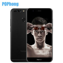 "Original Huawei Honor V9 4G LTE Mobile Phone 5.7"" 2560x1440 Kirin960 Octa Core 6GB RAM 64GB ROM Dual 12.0MP Camera Smart Phone"