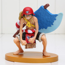 13cm Anime Figure One Piece film Gold Champion Monkey D Luffy with axe PVC Action Figure Collectible Model Toy