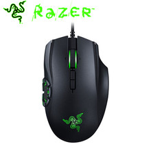 Razer Mouse Gamer Naga Hex V2 Ergonomic RGB MOBA Gaming 16000 DPI USB Wired 1000 HZ Right-handed 7 Buttons Ergonomic Mouse(China)