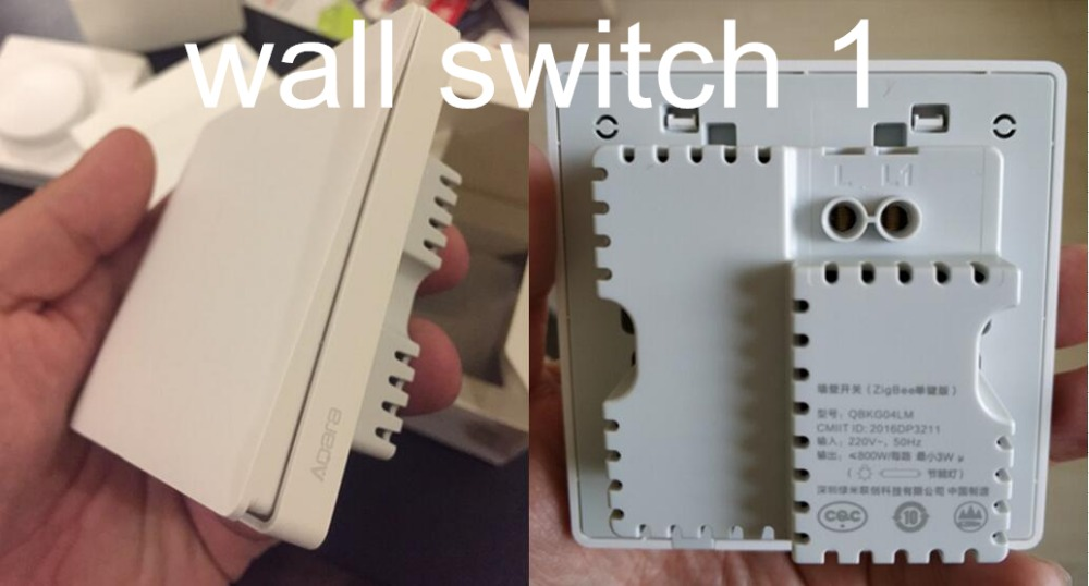 WALL SWITCH  1 REAL PHOTO