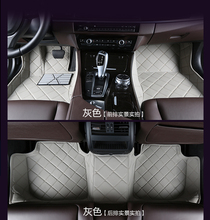 special car Ottomans surrounded wholy car floor mats for Tesla MODEL S Lincoln JaguarXE XF XJL PVC / PU /PVC(China)