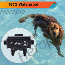 HEROPIE 300M Dog Trainer Waterproof Rechargeable Remote Pet Dog Training Collar Electric Shock Control 100LV Blacklight For Dogs(China)