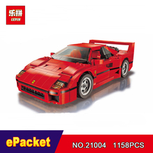 LEPIN Technic series Lepin 21004 Ferrarie F40 Sports Car Model Building Blocks Kits Bricks Toys Compatible with 10248(China)