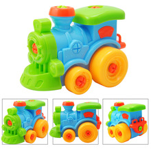 3D Car Puzzle Toys for Children Disassembly Toy Assemble Car Children Play Birthday Gift Toys For Kids Games Toy Repair Car Tool(China)