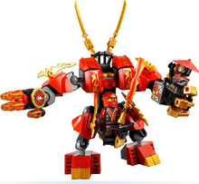 Figures Building Blocks Sets china brand Ninjago Kais Fire Mech 70500 (Discontinued manufacturer) compatible Lego - xyfminifigures Store store