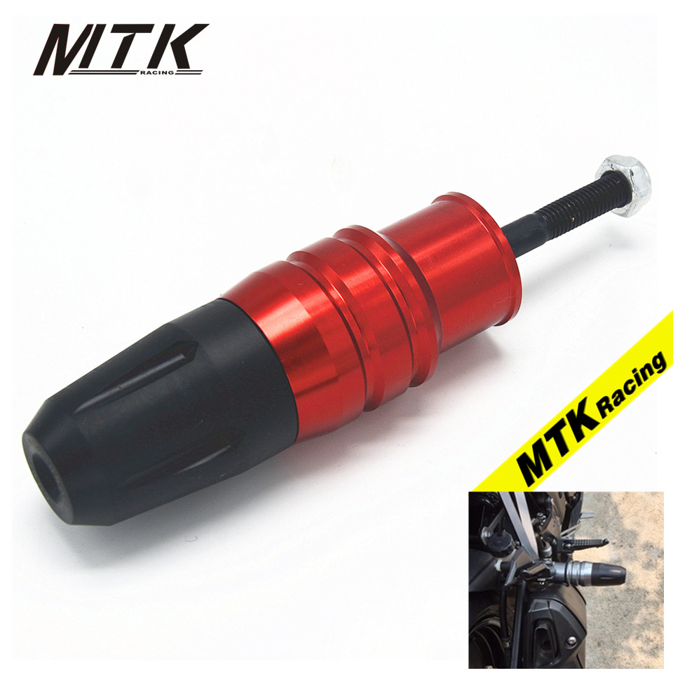 MTKRACING Motorcycle For KAWASAKI ZX-10R ZX10R 2016 Crash Pads Exhaust Sliders Body Protector For KTM<br>