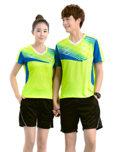 Badminton sets , Tennis Jerseys Male/Female , Tennis clothes ,Table Tennis clothes , sports badminton clothes 5053(China)