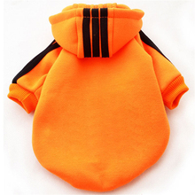 New Cute Cotton Pet Puppy Clothes Winter Warm Custom Small Dog Coat Jacket Hoodie Provide XXXL for Pet Dogs(China)