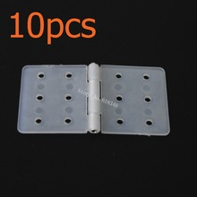 10pcs Nylon & Pinned Hinge 20x36 With Removable Split Pins RC Airplane Parts Aeromodelling Model DIY