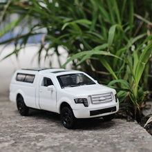 1:64 Ford Pickup trucks RV kids toys Alloy car model metallic material Collection Decoration Decoration Children like the gift