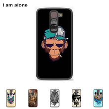 Hard Plastic Case For LG G2 mini D618 4.7 inch Cellphone Cover Mobile Phone Protective Skin Color Paint Bag Shipping Free