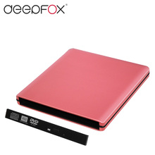 New arrival Colorful USB 3.0 External DVD Rom Case to 12.7mm SATA Enclosure For CD DVD RW Without Optical Drive(China)