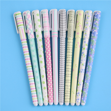 10 Pcs Color Gel Pen Creative Stationery Wholesale Pens Gift Office Material School Supplies
