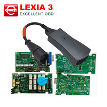 High A+ quality Lexia 3 Full Chip Firmware Serial No. 921815C/ Lexia3 V48 PP2000 V25 For Citroen for Peugeot New Diagbox V7.83