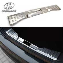 For Ford focus 3 stainless steel rearguards trunk shield trim sticker rear bumper cover decoration products
