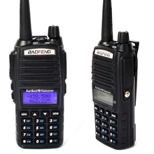 BaoFeng UV-82 Dual Band vhf uhf scanner Transceiver 2800mAh double PTT Two Way handheld Radio Walkie Talkie comunicador