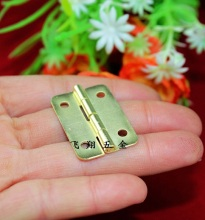 30*21MMThick flat hinge  Yellow wooden gift box hinge  Metal hinge  Connect buckle  Ordinary hinge  Doors and windows  Wholesale