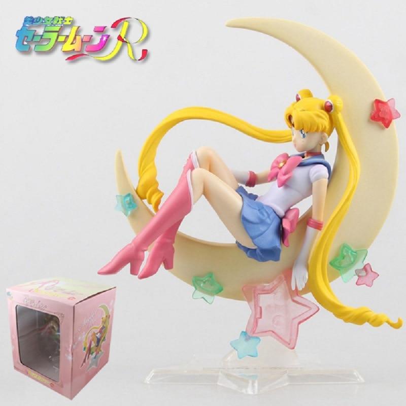 Japan Anime Sailor Moon Figure Tsukino Usagi PVC Action Figure Collectible Model Doll 15CM Anime Figure Brinquedos<br><br>Aliexpress